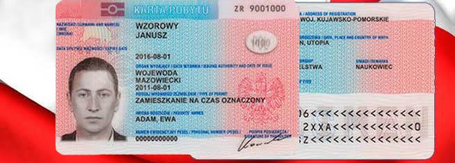 Karta Pobytu - residence permit in Poland